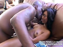 Couple;Small Tits;Ebony;Big Cock;Big..